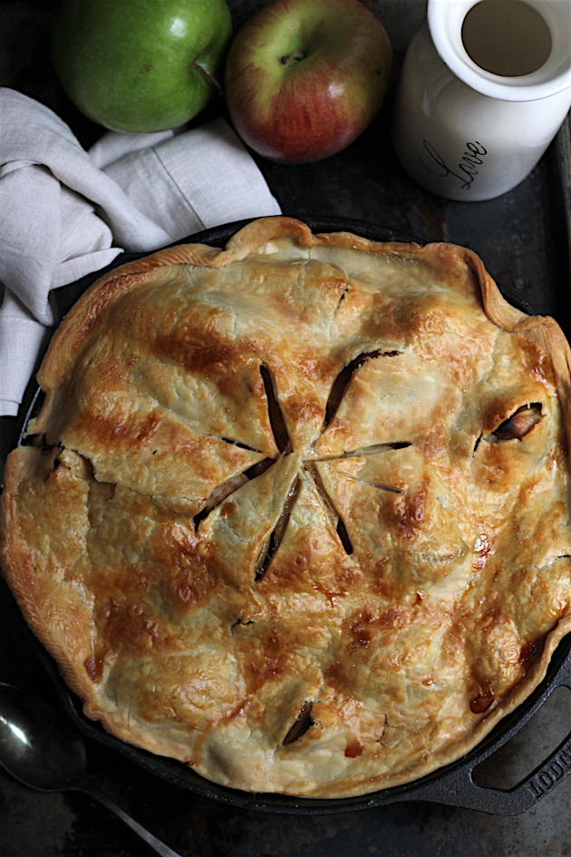 Skillet Apple Pie | Savor Home