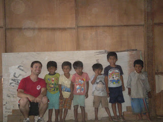Kyle Durfee and some Peruvian kids from Noe