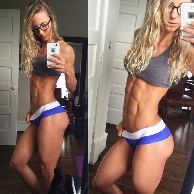 Rachel Scheer Fitness Model