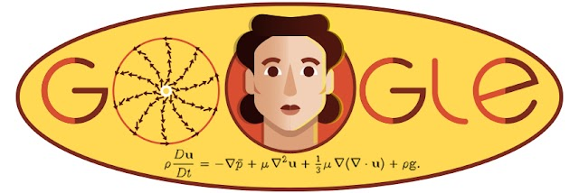 The 100th birthday of Olga Ladizhinskaya was celebrated by Google Doodle