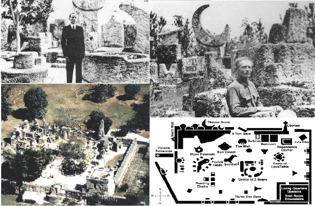 The Real Life Magneto And The Occult Secrets of The Coral Castle