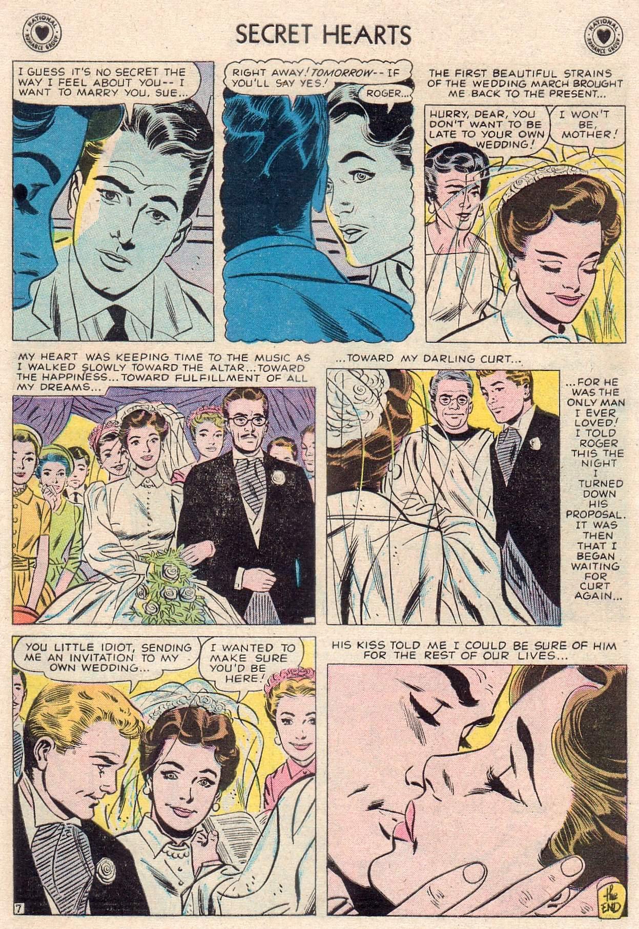 Read online Secret Hearts comic -  Issue #46 - 9
