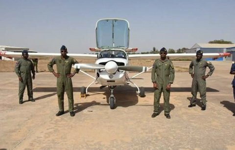 Five Super Mushshak aircrafts acquired from Pakistan by Nigeria Air force Arrived Nigeria