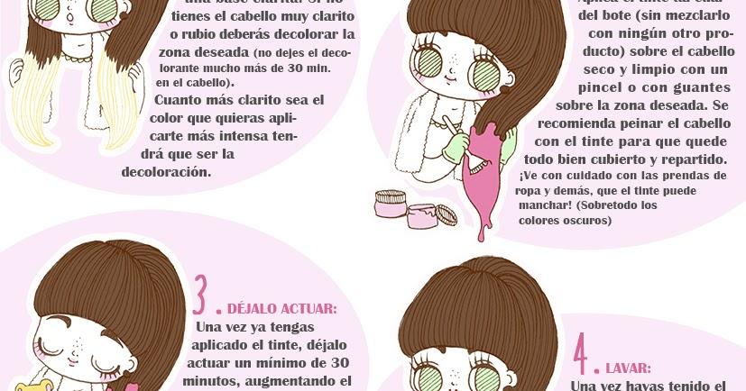 Madame Chocolat: Pequeña Guía Para Teñir El Cabello Con