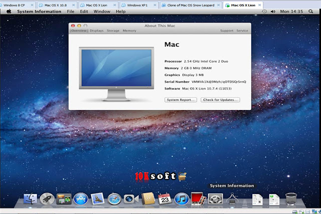 Niresh Mac OSX Mountain Lion 10.8.5 latest version free Download