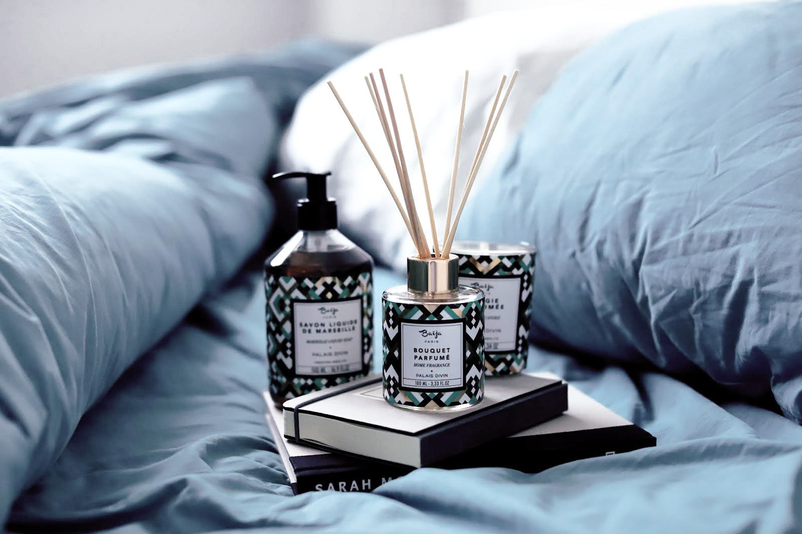 baïja palais divin bouquet parfumé bougie parfum de maison savon de marseille avis test