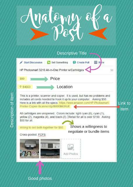 Anatomy of a Good Post: Learn how to sell your unwanted items!