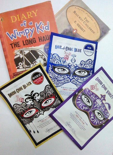 [Review] Mediheal dress code mask ( blue, black and violet)