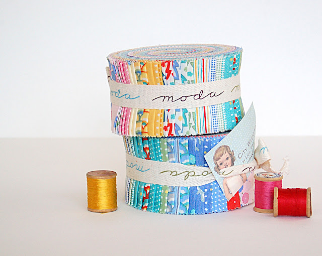A Scrapbook Of Inspiration Jelly Roll Fabric Inspirations