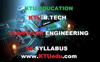 KTU B-Tech (S6) Computer Science & Engineering Sixth Semester Course Syllabus & Course Plan