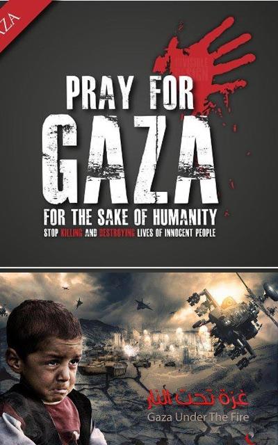 Eko Triyanggono: Pray for GAZA: Stop Killing and Destroy ...