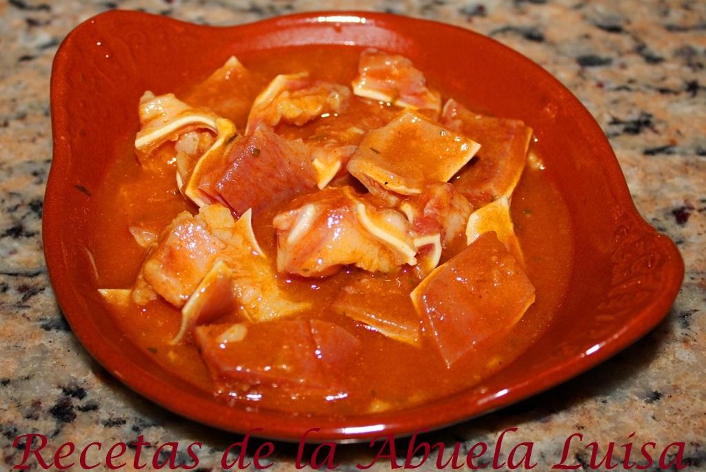 Oreja de cerdo en salsa recetas de la abuela luisa for Cocinar oreja de cerdo