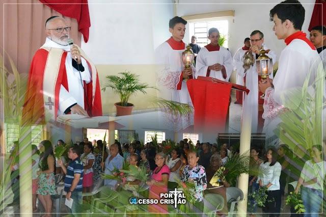Veja como foi o Domingo de Ramos do Mosteiro Bom Pastor de Coroatá - Portal Acesso Cristão de Coroatá