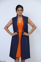Priyamani in Beautiful Short Deep neck Orange Dress ~  Exclusive 37.JPG