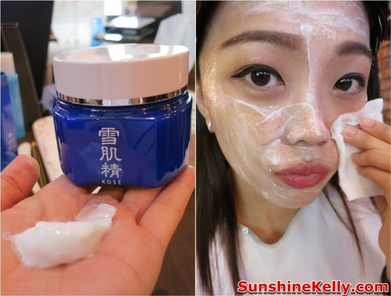Kose  Sharp Pre CNY Beauty Workshop, cny2014, beauty workshop, kose, sharp, kose sekkisei, makeup, skincare, Sekksei Cleansing Cream