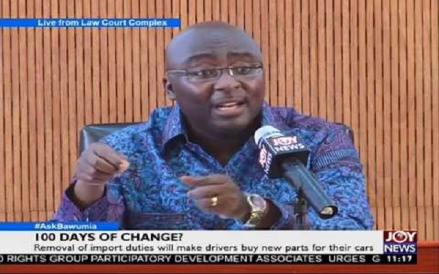 NPP one day, one achievement' in 100 days of change - Bawumia [Video]