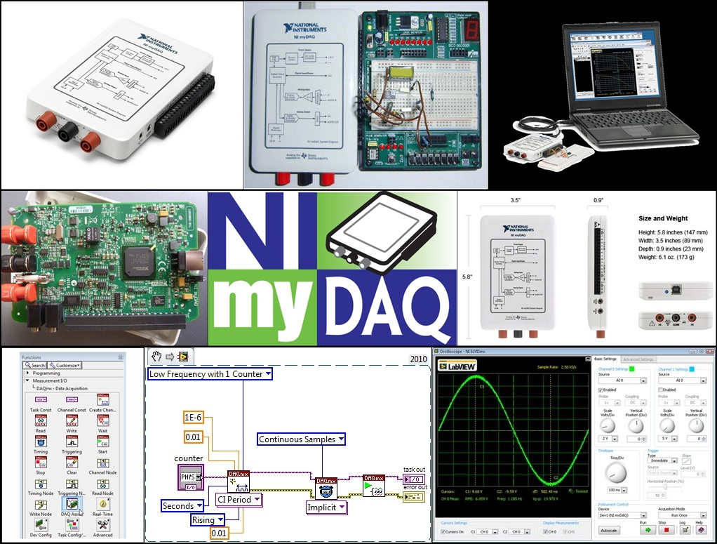 Labview Experiments In Automation Ni Usb 6008 Wiring Diagram Much Of My Professional Work Has Been Test Engineering And The Sw Tool Choice Is Hands Down National Instruments For