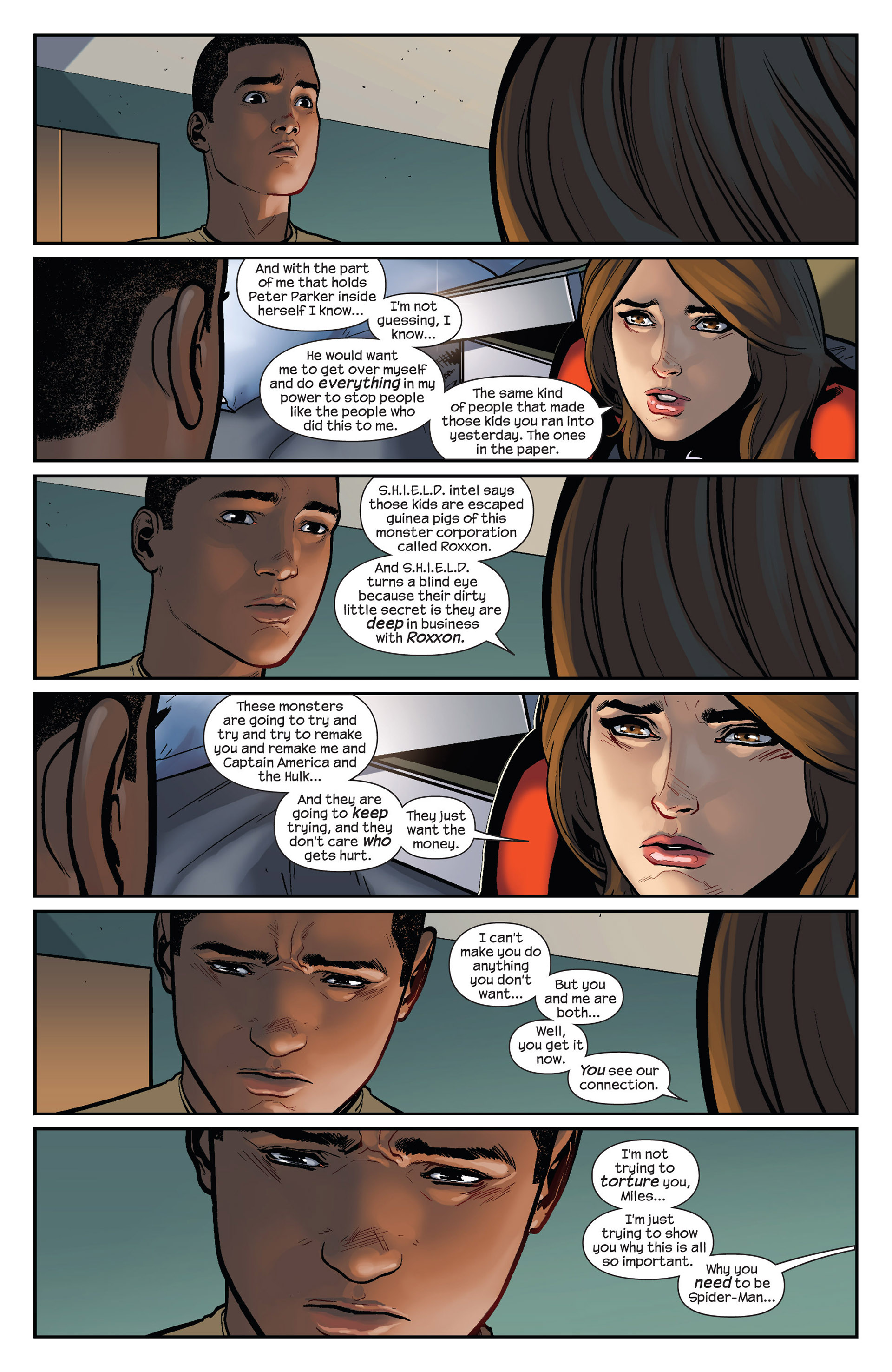 Read online Ultimate Comics Spider-Man (2011) comic -  Issue #25 - 16