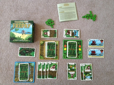 Friday, one of the best solo games, in play