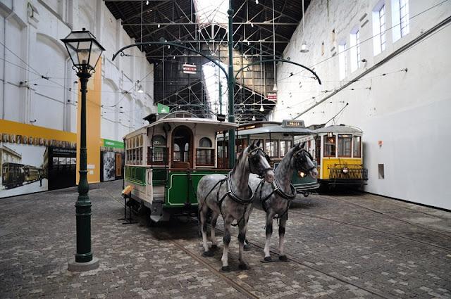 Museu do Carro Elétrico em Porto