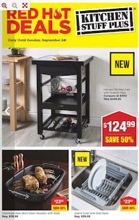 Kitchen Stuff Plus Flyer September 18 - 24, 2017