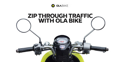OLA BIKES in BANGALORE @ Rs 2/Km