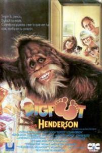 Bigfoot y los Henderson en Español Latino