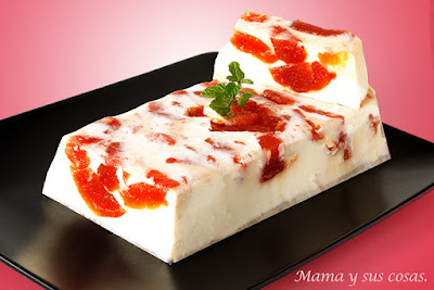 FLAN DE QUESO Y MEMBRILLO