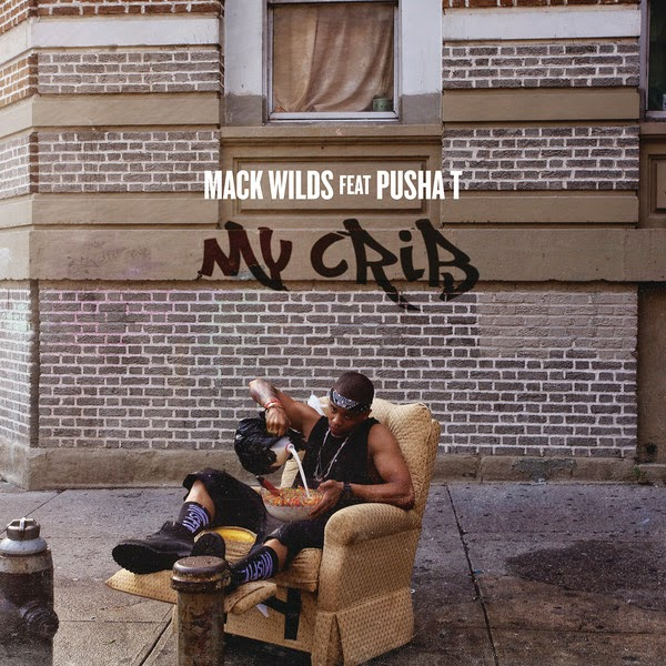 Mack Wilds - My Crib (Remix) [feat. Pusha T] - Single Cover