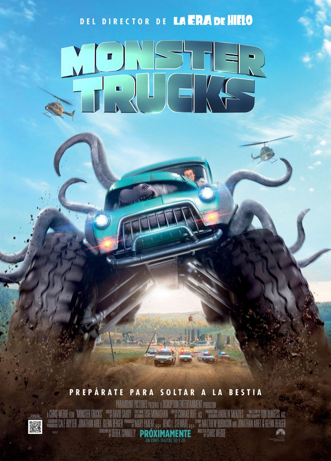 ver Monster Trucks 2017