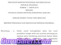 Download Juknis BOS Tahun 2018 untuk SD,SMP,SMA,SMK