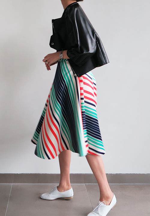 Empire Midi Skirt