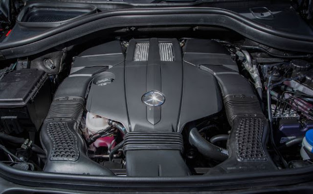 2017 Mercedes Benz GLS450 4MATIC Engine