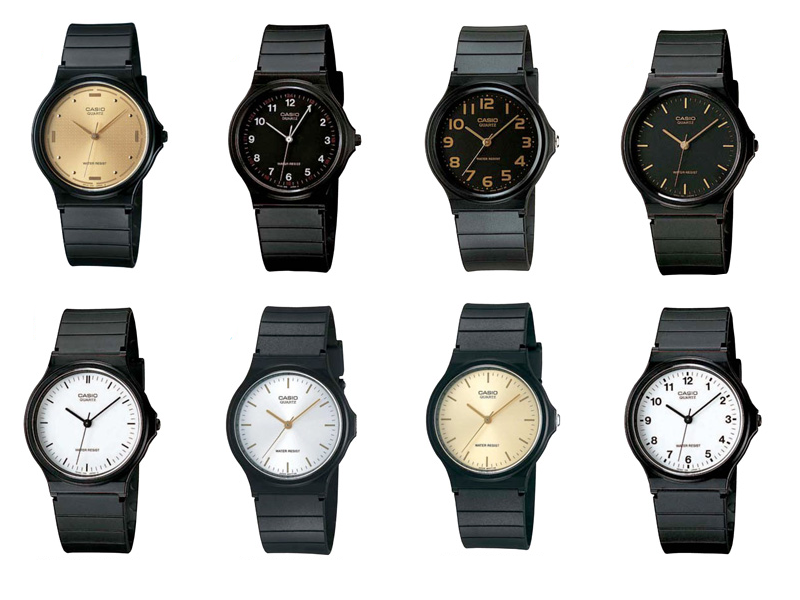 casio l zegarki l zegarki casio l minimalizm l minimalistyczne zegarki l złoty