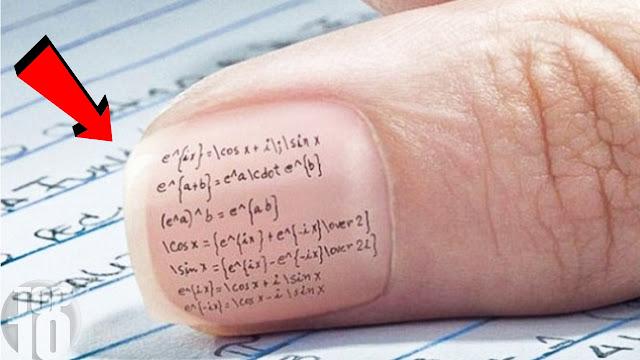5 Genius Ways Kids Cheat On School Tests
