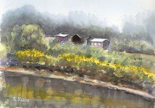 春の川 (Spring River)