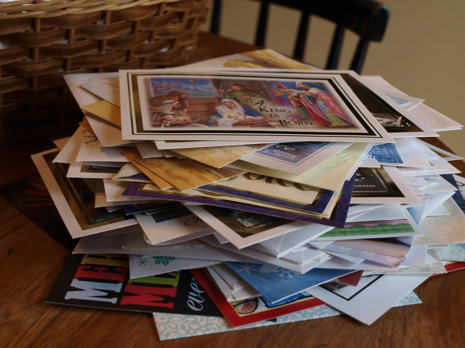 A YEAR OF JUBILEE REVIEWS: Christmas Cards, Why send them?