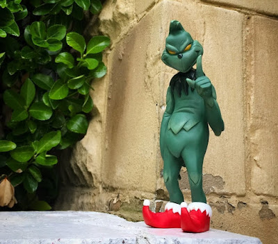 Dr. Seuss' The Grinch Resin Figure by WheresChappell
