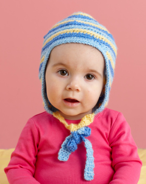 Knitting Pattern Baby Hat With Ear Flaps : Miss Julias Patterns: Free Funky Ear Flap Hat Patterns