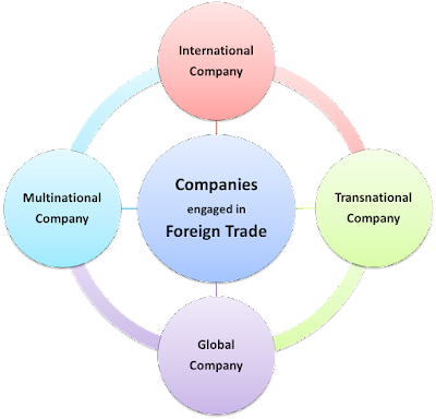 International Company Global Company Multinational Company Transnational Company Multidomestic Company