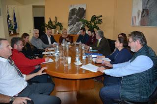 ΔΕΛΤΙΟ ΤΥΠΟΥ Π.Ε.ΠΙΕΡΙΑΣ:Σύσκεψη στην Π.Ε.Πιερίας παρουσία του Θεματικού Αντιπεριφερειάρχη Υποδομών και Δικτύων της Περιφέρειας Κεντρικής Μακεδονίας για τις ζημιές από τις πρόσφατες έντονες βροχοπτώσεις στην Πιερία