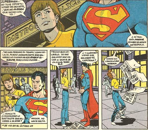 Viñeta de Adventures Superman 457