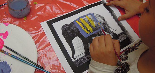 Institut Français : Atelier création - Muybridge à pas d'éléphant