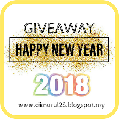 Giveaway Happy New Year 2018