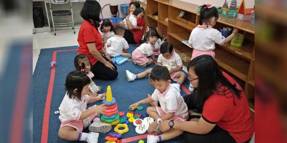 Kegiatan Awal Masuk KB Kristen Kalam Kudus Surakarta 2018