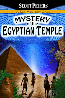 Mystery of the Egyptian Temple book by Scott Peters
