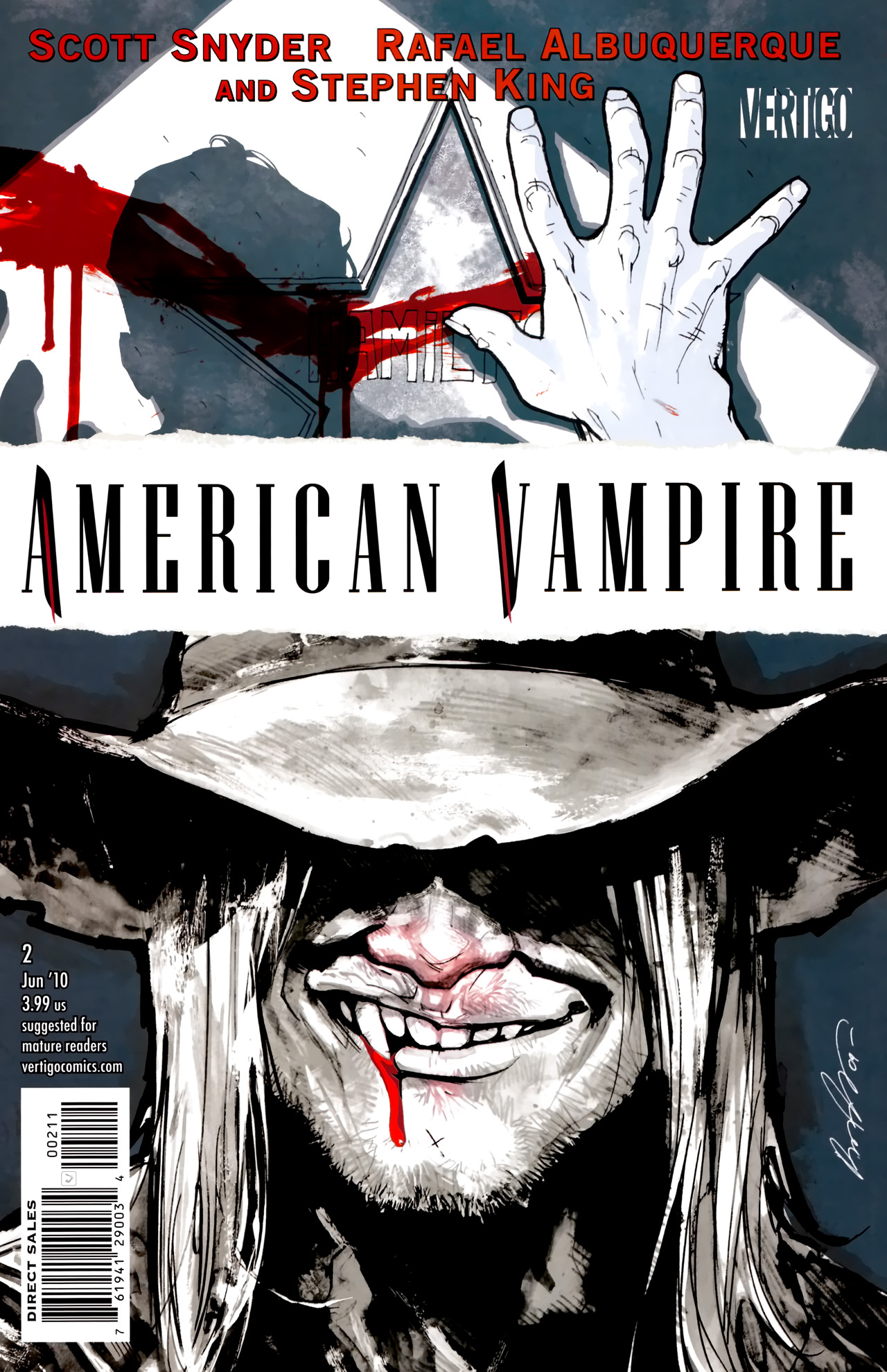 American Vampire issue 2 - Page 1