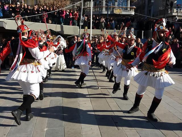 Οι Μωμόγεροι ξεσήκωσαν την πόλη της Κοζάνης (Φωτο - Video)