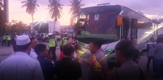 Seribu Warga Lampung Serbu Jakarta Demi Reuni 212, Operator Bus Batal Mendadak