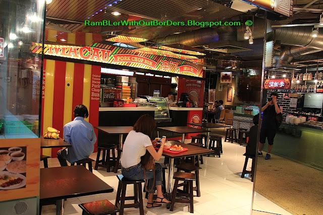 Food courts, Lot 10 Hutong, Bukit Bintang, KL, Malaysia